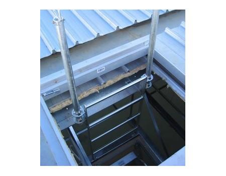 Am Boss Steel Rung Ceiling Space Access Ladder