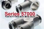 Push-in Tube Fittings | AIGNEP 57000 series