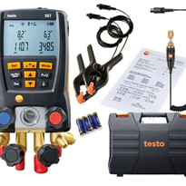 Digital Refrigeration Gauge with Vacuum Probe | testo 557