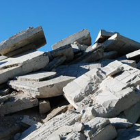 Recycling of Concrete, Bricks & Dirt