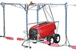 Herbicide Trailed Sprayer | Three Row with Booms