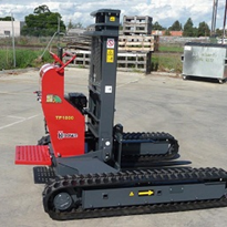 Compact Tracked Forklift | The MAMMOTH