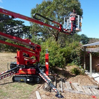 Spider Lifts | Hinowa Tracked EWP Range
