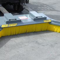 Industrial Sweeping | Maxisweep Forklift