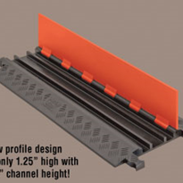 Low Profile Cable Protectors | Guard Dog® 5 Channel - Standard Ramps