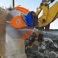 High-speed Diamond Blade Rock Saws | Echidna