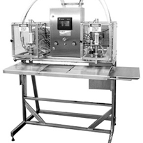 Semi-Automatic Turbine Filler | Twin Head Bag-In-Box Filler Model 300