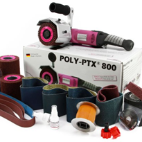 Grinding Machine | Poly PTX® 800 Metal Kit with Eco Smart Accessories