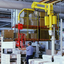 Industrial pneumatic lifter for packaging handling