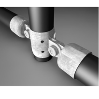 Handrail Fittings | 2 Way Ring & Cups