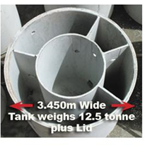 Grease Trap | 22 000 Litre Tank