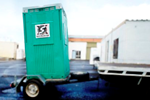 Portable Toilet Hire | Trailer Mounted
