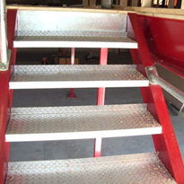 Industrial Stairs & Hand Rails