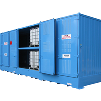 Dangerous Goods Storage | Outdoor Relocatable | 32,000L Bulkibox