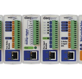 "Ethernet Relays, Data Acquisition & Remote Monitoring | ControlByWebâ""¢"
