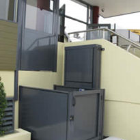 Vertical Wheelchair Lifts | Genesis OPAL