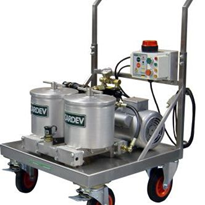 Large Mobile Oil Filtration Unit | 2S500ED