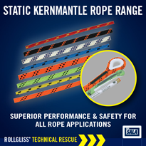 Rollgliss® Technical Rescue Static Kernmantle Rope Range | DBI-SALA