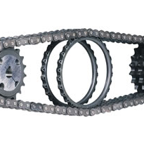Roll-Ring Chain Tensioners