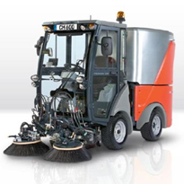Foothpath Carpark Suction Sweeper | Citymaster 600 | Hako