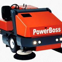 Industrial Floor Sweeper | Hako Powerboss Atlas