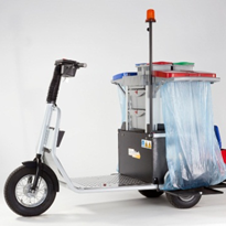 Battery Electric Tug with Cleaning Kit | Skatework
