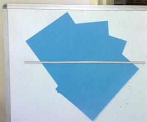 Whiteboard magnets from AMF Magnetics.