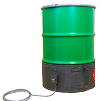 Narrow Insulated Drum Heater Jacket | HHND