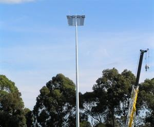A lighting solution was installed with consideration to the biodiversity of the surrounding swamp and wetlands.
