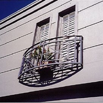 Wrought Iron Juliet Balcony Design