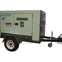 Trailer Mounted Diesel Air Compressors | Airman PDS265S-5B2T