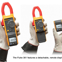 "Fluke 381 Remote Display True-rms AC/DC Clamp meter with iFlexâ""¢"