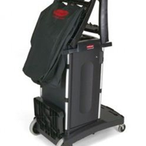 Compact Folding Housekeeping Cart | Rubbermaid