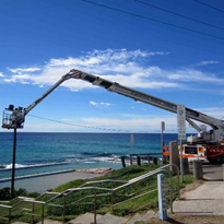 35 Metre Cherry Picker for Hire | Bronto