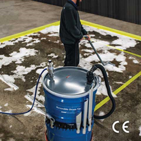 Reversible Drum Vacuum - CE Compliant