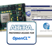 BittWare's OpenCL Developer's Bundle | Altera Stratix FPGA-based PCIe