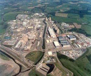 Aerial view of Sellafield Site.