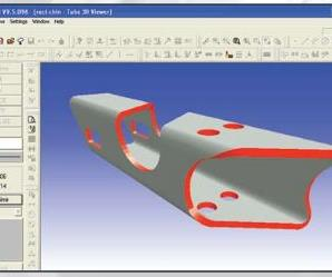 cncKad CAD/CAM Software is an advanced solution for the sheet metal manufacturer.