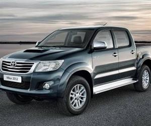 The Toyota Hilux 4x4 ute.