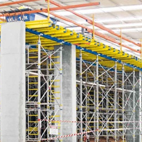 Forming firm insures fast building process for warehouse project