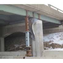 Sensors used in bridge condition monitoring system