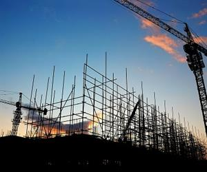 """The deepening slide in engineering construction is overshadowing the growth in residential building activity."""