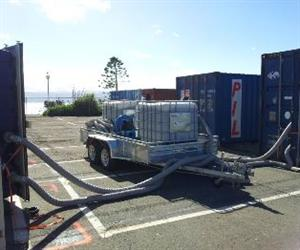 New Zealand's CentrePort in Wellington has introduced mandatory technology to use for recapture of gas methyl bromide.
