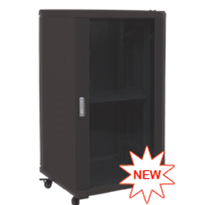 "19"" Light Duty Computer Rack - Ausrack Floor onyX"
