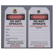 Safety & Danger Tags