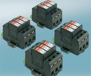 The VAL-MS…DC-PV surge arresters from Phoenix Contact are now short-circuit-proof up to 1000 A DC