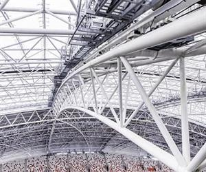 Australian engineering firm MHE-Demag was commissioned to provide roof-moving solutions for Singapore Sports Hub Stadium.