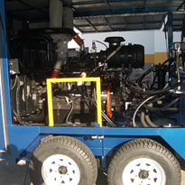 Customised specialty support equipment for drill rigs