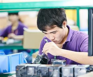 A pressing reason to outsource manufacturing is cost savings, such as that offered by cheap labour and advanced machinery.