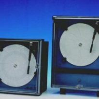 Electronic Recorder with Circular Chart for Fixed Mounting | TT260